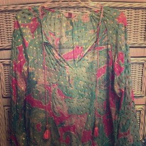 Lilly Pulitzer Rilla Top in Pink Sands